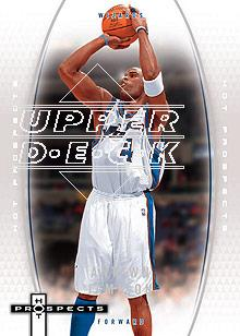 2006-07 Fleer Hot Prospects #60 Antawn Jamison