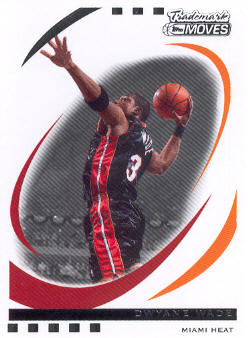2006-07 Topps Trademark Moves #1 Dwyane Wade