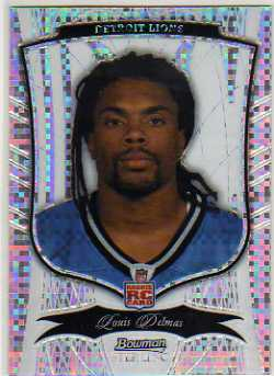 2009 Bowman Sterling Xfractors #22 Louis Delmas