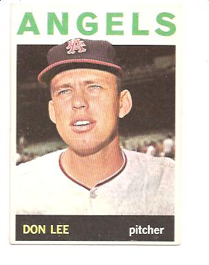 1964 Topps #493 Don Lee