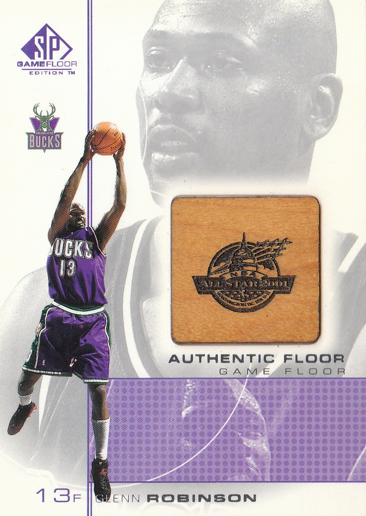2000-01 SP Game Floor Authentic Floor #GR Glenn Robinson
