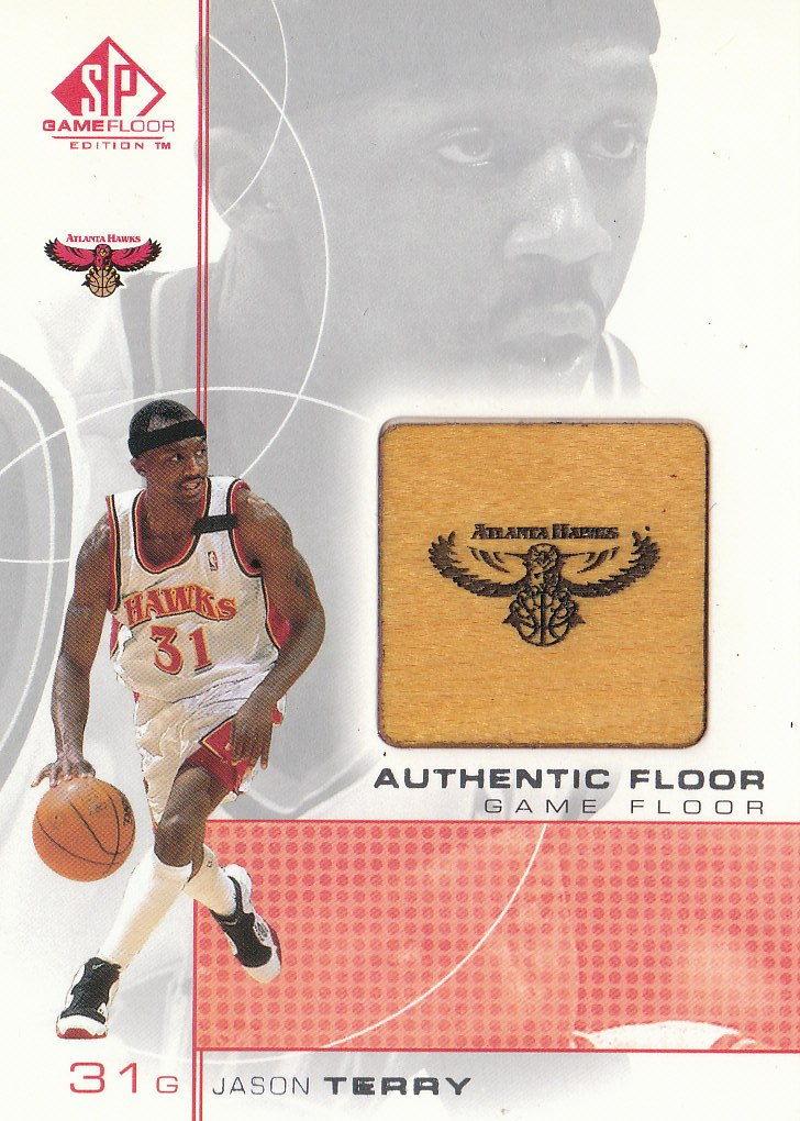 2000-01 SP Game Floor Authentic Floor #JT Jason Terry