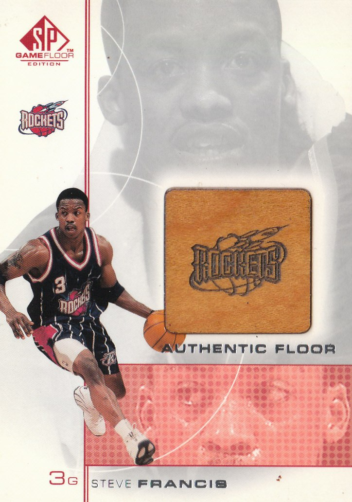 2000-01 SP Game Floor Authentic Floor #SF Steve Francis
