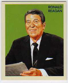 2009 Philadelphia National Chicle #NC10 Ronald Reagan