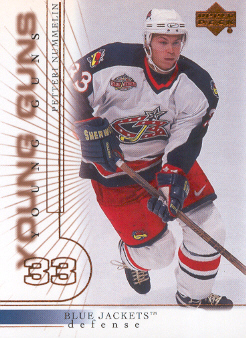2000-01 Upper Deck #423 Petteri Nummelin YG RC