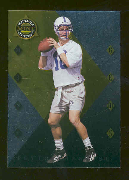 1998 Pinnacle Mint Gems #4 Peyton Manning