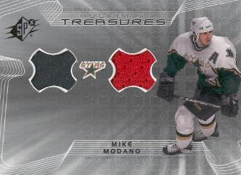 2001-02 SPx Hockey Treasures #HTMO Mike Modano
