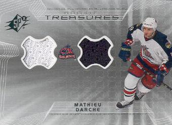 2001-02 SPx Rookie Treasures #RTDA Mathieu Darche