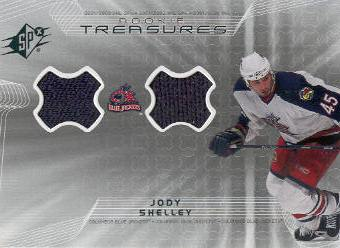 2001-02 SPx Rookie Treasures #RTJS Jody Shelley