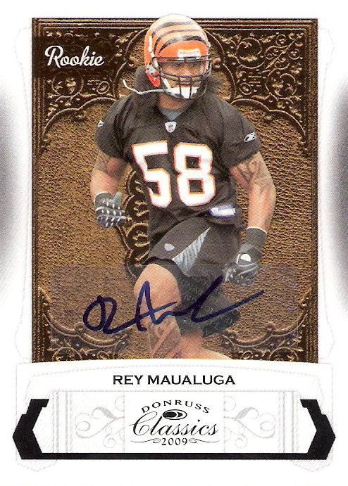 2009 Donruss Classics #239 Rey Maualuga AU/299 RC