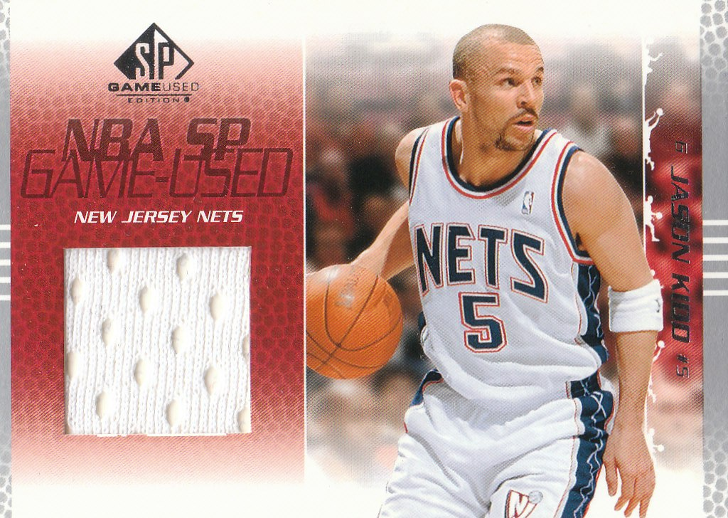 2003-04 SP Game Used #56 Jason Kidd JSY