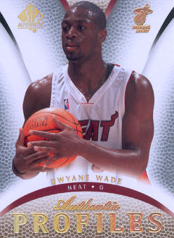 2007-08 SP Authentic Profiles #AP27 Dwyane Wade