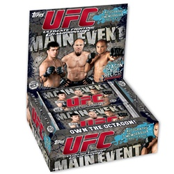 2010 Topps UFC Main Event (Uncaged) MMA Mixed Martial Arts Sports Trading Cards Hobby Box