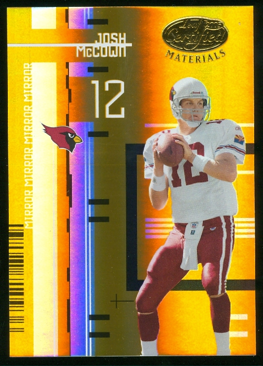 2005 Leaf Certified Materials Mirror Gold #2 Josh McCown