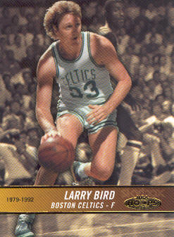 2004-05 Hoops #171 Larry Bird HH