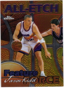 1999-00 Topps Chrome All-Etch #AE9 Jason Kidd