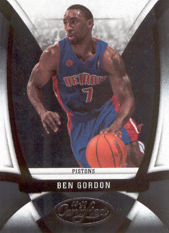 2009-10 Certified #111 Ben Gordon