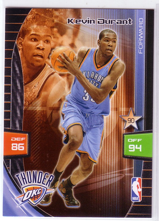 2009-10 Adrenalyn XL #83 Kevin Durant