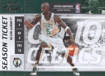2009-10 Playoff Contenders #1 Kevin Garnett