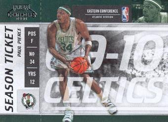 2009-10 Playoff Contenders #2 Paul Pierce