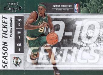 2009-10 Playoff Contenders #3 Rajon Rondo