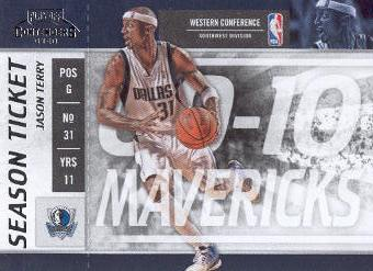 2009-10 Playoff Contenders #5 Jason Terry
