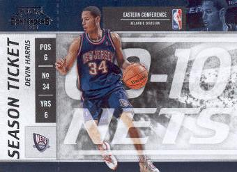 2009-10 Playoff Contenders #9 Devin Harris