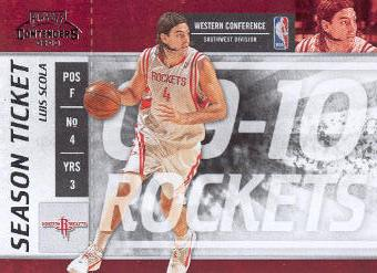 2009-10 Playoff Contenders #11 Luis Scola