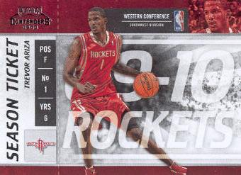 2009-10 Playoff Contenders #13 Trevor Ariza