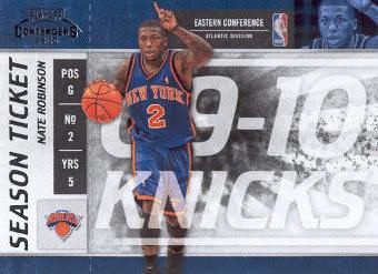 2009-10 Playoff Contenders #17 Nate Robinson