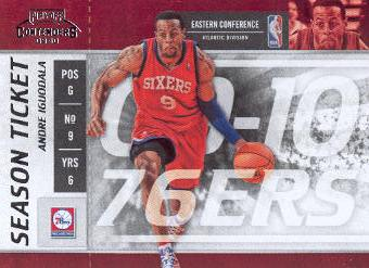 2009-10 Playoff Contenders #22 Andre Iguodala