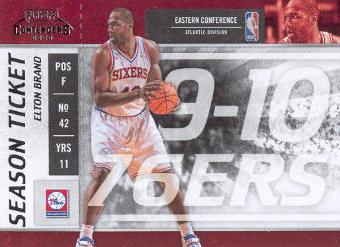 2009-10 Playoff Contenders #23 Elton Brand