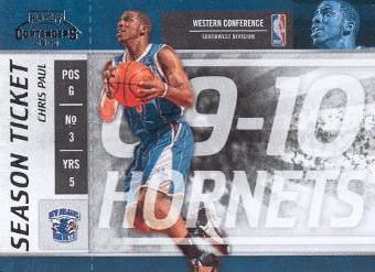 2009-10 Playoff Contenders #25 Chris Paul