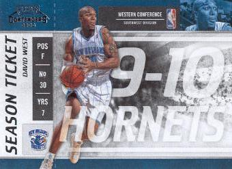 2009-10 Playoff Contenders #26 David West