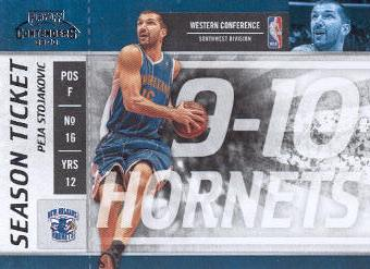 2009-10 Playoff Contenders #27 Peja Stojakovic