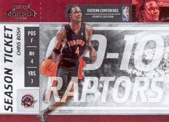 2009-10 Playoff Contenders #29 Chris Bosh