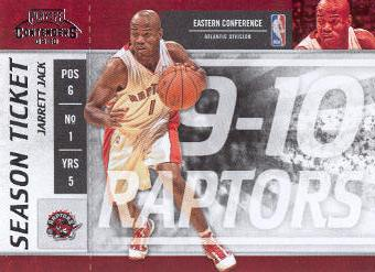 2009-10 Playoff Contenders #30 Jarrett Jack