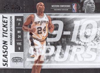 2009-10 Playoff Contenders #33 Richard Jefferson