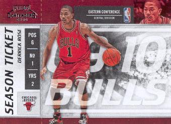 2009-10 Playoff Contenders #36 Derrick Rose front image