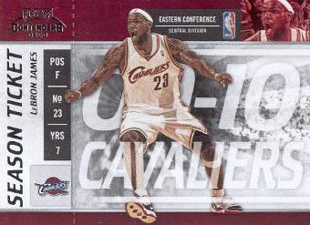 2009-10 Playoff Contenders #43 LeBron James