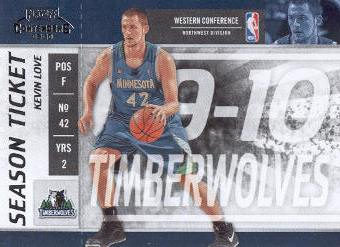 2009-10 Playoff Contenders #47 Kevin Love