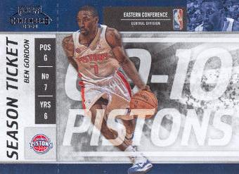 2009-10 Playoff Contenders #49 Ben Gordon