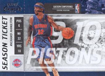 2009-10 Playoff Contenders #50 Richard Hamilton