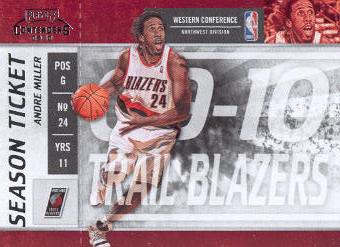 2009-10 Playoff Contenders #52 Andre Miller
