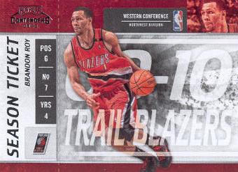 2009-10 Playoff Contenders #53 Brandon Roy