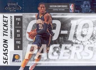 2009-10 Playoff Contenders #56 Danny Granger