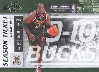 2009-10 Playoff Contenders #64 Michael Redd