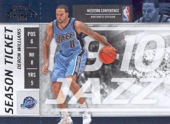 2009-10 Playoff Contenders #66 Deron Williams