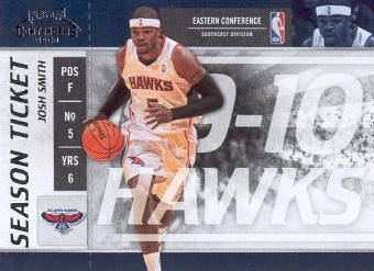 2009-10 Playoff Contenders #69 Josh Smith