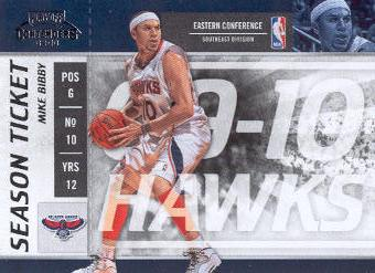 2009-10 Playoff Contenders #70 Mike Bibby